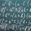 Royalty-Free Stock Photo: Math formulas written on the desk