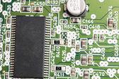 Modern electronic board close-up — Stock Photo