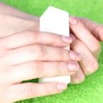 Manicure process — Stock Photo