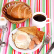 Classical breakfast — Foto Stock #10264043