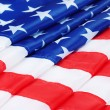 American flag background — Stock Photo #10341087