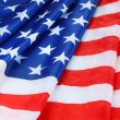 American flag background — Stock Photo #10360567