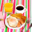 Classical breakfast — Foto Stock #10365869