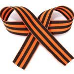 St. George ribbon isolated on white — Stock Photo #10474871