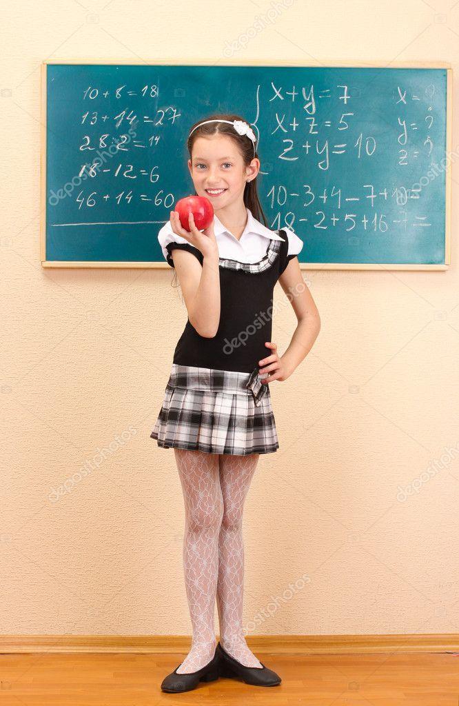 Petite school girls