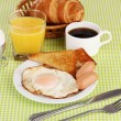 Classical breakfast — Stockfoto #10586083