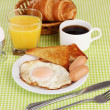 Classical breakfast — Foto Stock #10586083