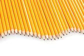 铅笔在白色隔离 — 图库照片