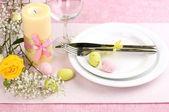 Velikonoční stůl — Stock fotografie