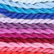 Sewing threads for embroidery closeup — Stock Photo