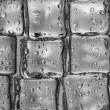 Melting ice cubes closeup — Stockfoto