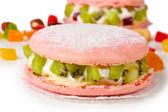 Two cakes closeup — Stock Photo