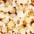 Tasty popcorn closeup - Stock Photo
