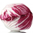Red cabbage isolated on white — Stock Photo