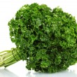 Fresh bunch of parsley isolated on white — Stock Photo #8351862