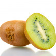 Juicy kiwi fruits isolated on white — Stock Photo