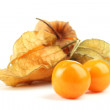 Physalis heap isolated on white - Stock Photo