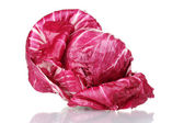 Red cabbage isolated on white — Stockfoto