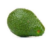 Ripe avocado isolated on white — Stock Photo
