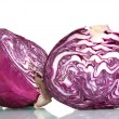 Stock Photo: Sliced red cabbage
