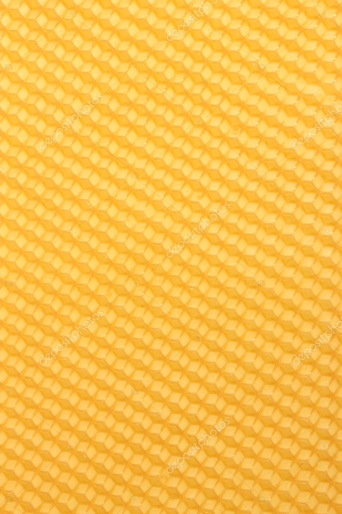 Yellow beautiful honeycomb background — Stock Photo #8891428