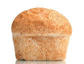 Tasty white bread isolated on white — Stock Photo
