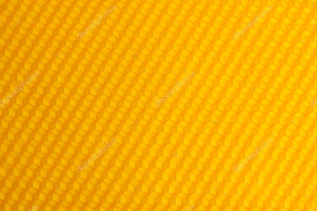Yellow beautiful honeycomb background — Stock Photo #9006084