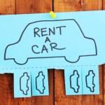 Color advertisement rent — Stock Photo