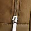 Bag's zipper close up - Stock Photo