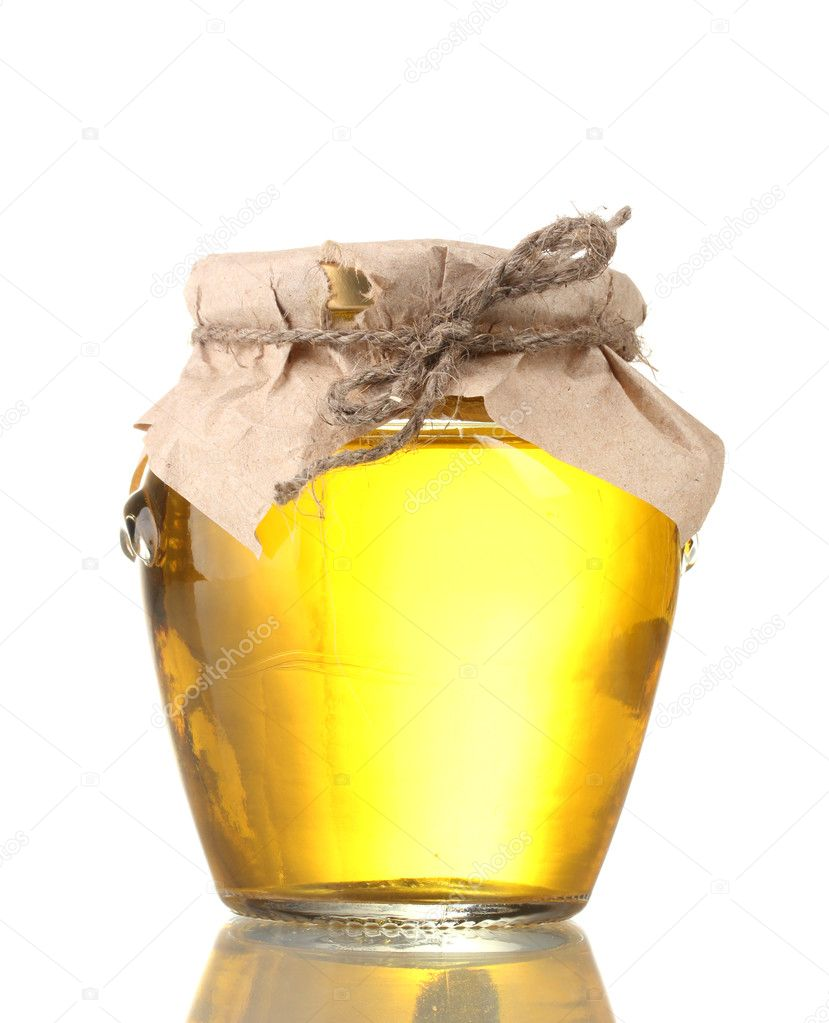 Honey isolated on white  Stock Photo #9128743