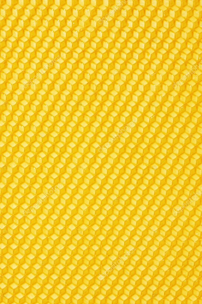Yellow beautiful honeycomb background  Stock Photo #9134929