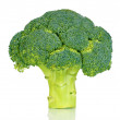 Fresh broccoli isolated on white - Stock Photo