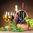 Stock Photo: Wine products