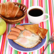 Classical breakfast — Foto Stock #9416784