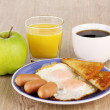 Classical breakfast - Stock Photo