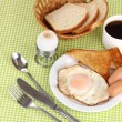 Foto Stock: Classical breakfast