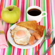 Stock Photo: Classical breakfast