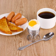 Classical breakfast — Stockfoto #9621951
