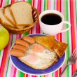 Classical breakfast — ストック写真 #9648327
