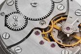 Klok mechanisme close-up — Stockfoto