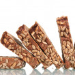 Delicious sliced ​​rye bread with sunflower seeds — Stock Photo