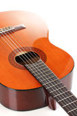 гитара, изолированные на белом фоне — Стоковое фото