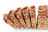Delicious sliced bread with sunflower seeds — Stock Photo
