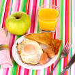 Classical breakfast — Foto Stock #9894846