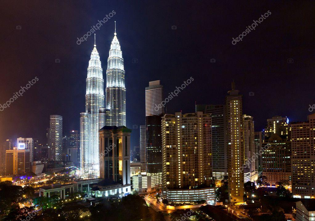 吉隆坡的双子塔