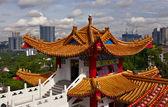 クアラルンプール都市景観と thean hou 寺院 — ストック写真