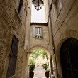 Stock Photo: Narrow Street of Montpellier
