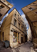 Narrow Streets of Montpellier — Stock Photo