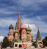 Saint Basil Cathedral, Moscow — Stock Photo