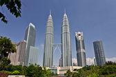 Petronas Towers at Kuala Lumpur, Malaysia — Stock Photo